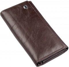 Женский кошелек кожаный ST Leather Accessories 18878 Коричневый