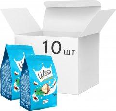Упаковка конфет АВК Королевский шарм с кокосовой начинкой 110 г х 10 шт (4823105801626)