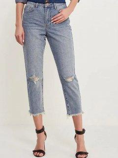 Укорочені джинси Lost Ink 1001114040300035 M (76301M) Синій