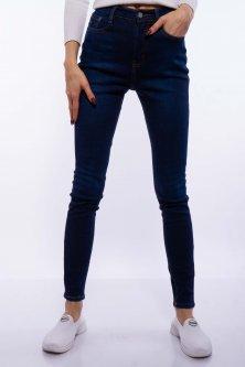 Джинси жіночі на флісі Time of Style 134P901-1 30 Синій