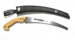 Ножовка садовая с чехлом Altuna 330 мм японская заточка с деревянной ручкой (29602.A)
