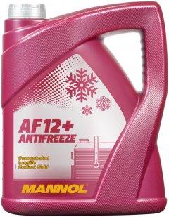 Антифриз Mannol Longl Antifreeze AF12+ концентрат 5 л Red (365/5)