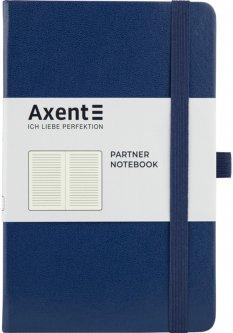 Записная книга Axent Partner 125х195 мм в линейку 96 листов Синяя (8308-02-A)
