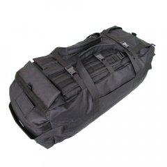 Сумка-рюкзак дорожная Icemonster Transporter 80 л Водоотталкивающая ткань Черная