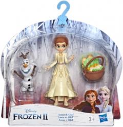 Игровой набор Hasbro Frozen Холодное сердце 2 Анна и Олаф (E5509_E7079)