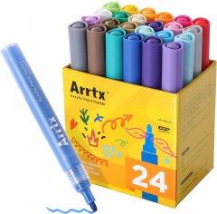 Акриловые маркеры Arrtx 24 цвета (AC-002-24) (LC302222)