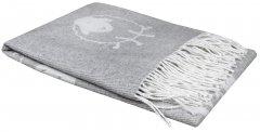 Плед LightHouse Happy Sheep 140х200 Светло-серый (2200000550330)