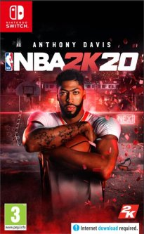 Игра NBA 2K20 для Nintendo Switch (картридж, English version)