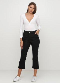 Укорочені джинси PrettyLittleThing 38 Чорний. CLV0210