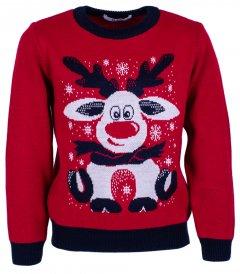 Джемпер Flash Різдво 19BG133-6-3900 116 см NY Червоний (2200000248213)