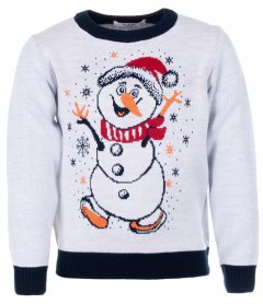 Джемпер Flash Різдво 19BG134-6-3900 134 см NY Білий (2222316725011)