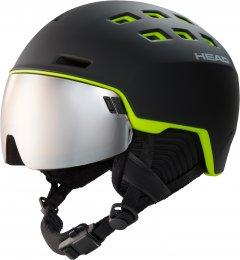 Шлем горнолыжный HEAD RADAR M/L Black (726424859351)
