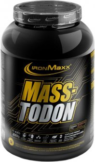 Гейнер IronMaxx Masstodon 2 кг Шоколад (4260426838694)