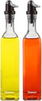 Набор бутылок Fissman для масла и уксуса 2 х 500 мл (6513)