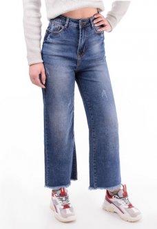 Широкі жіночі джинси 25
