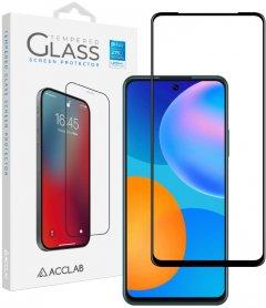 Защитное стекло ACCLAB Full Glue для Huawei P Smart 2021 Black (1283126508325)