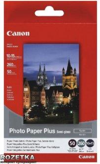Фотобумага Canon Photo Paper Plus Semi-gloss SG-201 50 листов (1686B015)
