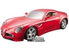 Автомодель Bburago (1:32) Alfa 8C Competizone (2007) (18-43004) Красный металлик