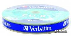 Verbatim CD-R 700 MB 52x Shrink Extra 10 шт (43725)