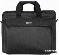 Сумка для ноутбука Porto 15.6'' Black (PC-15BK)