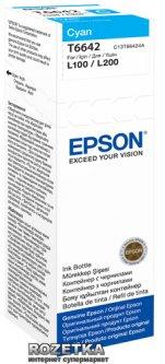 Контейнер Epson L100/L200 Cyan (C13T66424A)