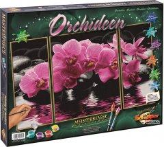 """Художественный творческий набор-триптих """"Орхидеи"""" Schipper (9260603)"""