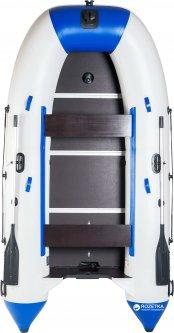 Лодка Aqua-Storm stk-400E Бело-синяя
