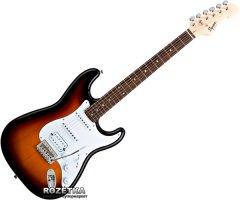 Электрогитара Fender Squier Bullet Stratocaster HSS (031-0005-532/037-0005-532) Brown Sunburst