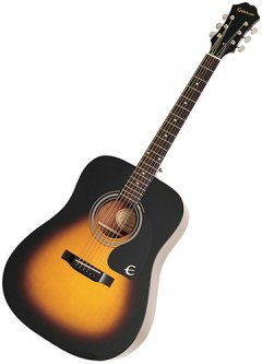 Гитара акустическая Epiphone DR-100 (A002320) Vintage Sunburst CH HDWE