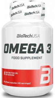 Жирные кислоты Biotech Natural Omega 3 90 капсул (5999076225958)