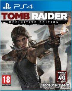 Игра Tomb Raider Definitive Edition для PS4 (Blu-ray диск, Russian version)