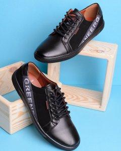 Чорні кеди на шнурівці 40