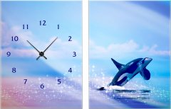 Настенные часы ART-LIFE COLLECTION 1C-215-2p-W
