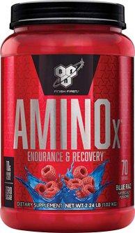 Аминокислота BSN Amino X 1.01 кг Blue Raspberry (834266063383)