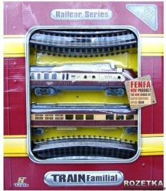 Паровоз с вагоном Fenfa (1601B-5B)