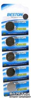 Батарейки Beston CR-2032 225 мАч Lithium 5 шт (AAB1826)