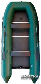 Лодка Aqua-Storm stk-450E Зеленая
