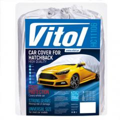 Тент автомобильный Vitol HC11106 XL Серый