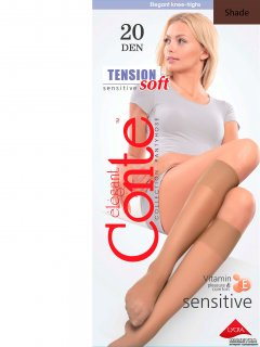 Гольфы Conte Tension Soft 20 Den Shade (4810226052327)