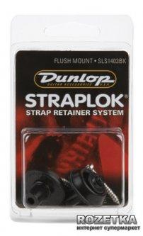 Стреплоки Dunlop Flush Mount Black (SLS1403BK)