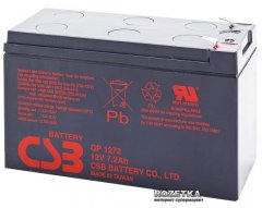 Аккумуляторная батарея CSB 12V 7.2Ah (GP1272F2/GP1272)
