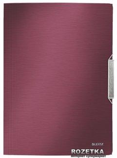 Папка на резинке Leitz Style А4 Красная (39770028)