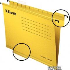Набор подвесных папок Esselte Pendaflex 25 шт Желтые (90314)