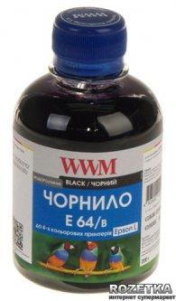 Чернила WWM E64 Epson L110/L210/L355 200 мл Black (E64/B)