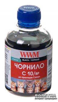 Чернила WWM Canon PG-510BK/PG-512BK/PGI-520BK 200 мл Black Pigment (C10/BP)