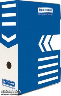 Набор архивных боксов Buromax для документов 100 мм Синий 5 шт (BM.3261-02)