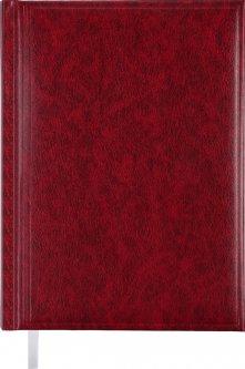 Недатированный ежедневник Buromax Base А5 из бумвинила на 288 страниц Бордовый (BM.2008-13)