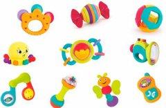 Набор погремушек Hola Toys 10 шт (939) (6944167193967)