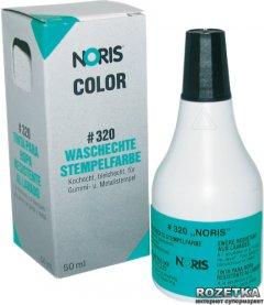 Быстросохнущая штемпельная краска на спиртовой основе для тканей Noris-Color 320 50 мл Черная