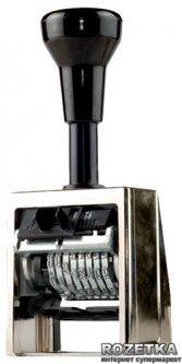 Нумератор автоматический Reiner 5.5 мм 8 символов Черный корпус (В6/8/5,5 anti)